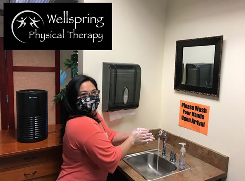 Covid Safety Cleaning - Wellspring Physical Therapy - Federal Way